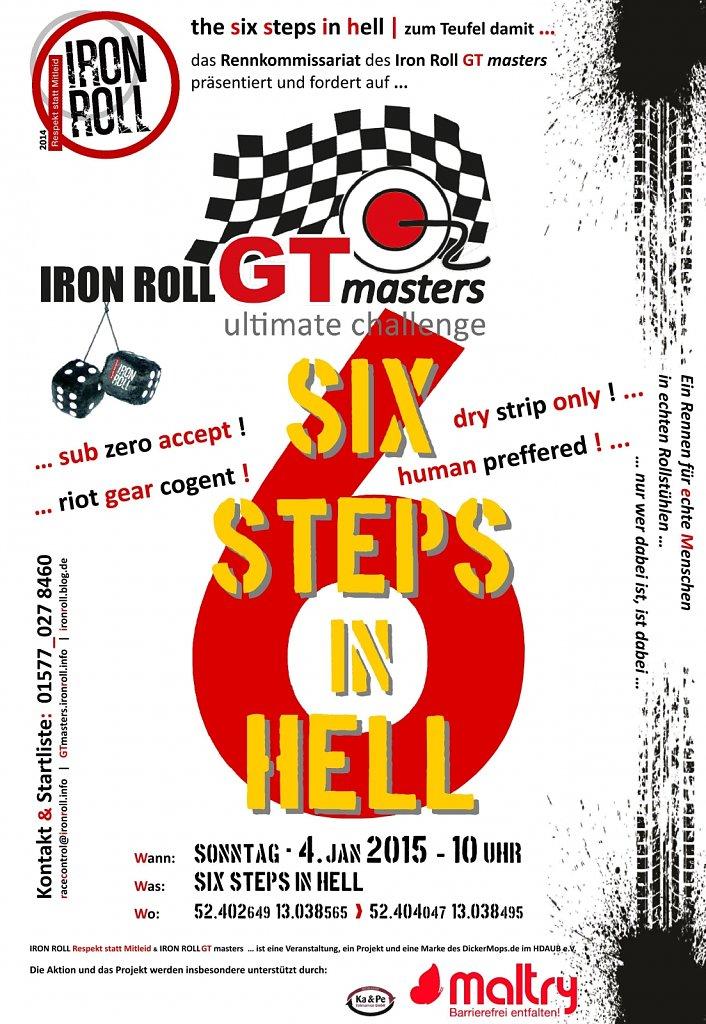 Iron-RollGTmasters-Plakat-six-steps-in-hell.jpg